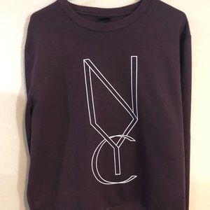 Maroon H&M Seeatshirt